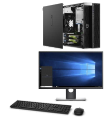 Dell Precision Tower 5820 com monitor